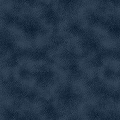 Tecido Tricoline Manchado / Poeirinha - Azul Seco - 100% Algodão - Largura: 1,50m