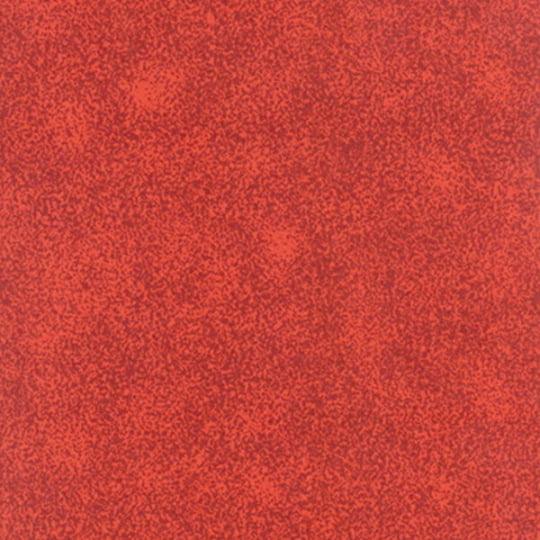 Tecido Tricoline Manchado/Poeirinha Fumê Vermelho - 100% Algodão - Largura 1,50m