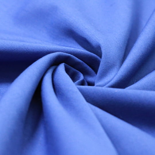Tecido Tricoline Mista Lisa - Azul Bic - 65% Poliéster 35% Algodão - Largura 1,50m