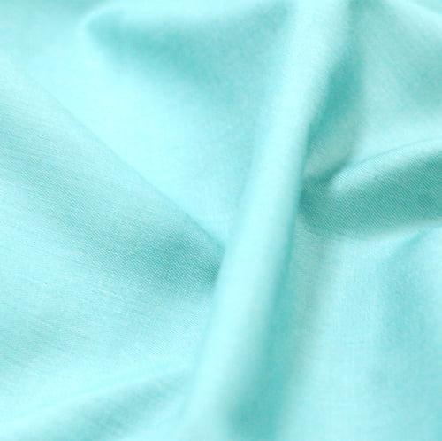 Tecido Tricoline Mista Lisa - Verde Kelly - 65% Poliéster 35% Algodão - Largura 1,50m