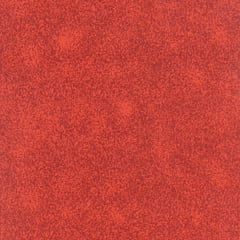 Tecido Tricoline Mista Manchado/Poeirinha Fumê Vermelho - 90% Algodão 10% Poliéster - Largura 1,50m