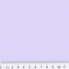 Tecido Tricoline Mista Micro Poá - Azul Claro - 90% Algodão 10% Poliéster - Largura 1,50m
