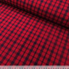 Tecido Tricoline Xadrez Madras - REF 086 - 100% Algodão - Largura 1,50 m