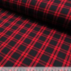 Tecido Tricoline Xadrez Madras - REF 087 - 100% Algodão - Largura 1,50 m