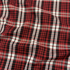 Tecido Tricoline Xadrez Madras - REF 091 - 100% Algodão - Largura 1,50m