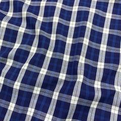 Tecido Tricoline Xadrez Madras - REF 097 - 100% Algodão - Largura 1,50m