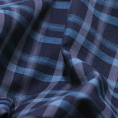 Tecido Tricoline Xadrez Madras - REF 103 - 100% Algodão - Largura 1,50m