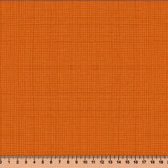 Tecido Tricoline Coleção Composê Ideal Laranja - Riscadinho - 100% Algodão - Largura 1,50m