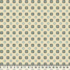 Tecido Tricoline Floral Bem Me Quer 1 - 100% Algodão - Largura 1,50m