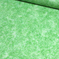 Tecido Tricoline Floral - Liberty Manchado - Verde Lemon