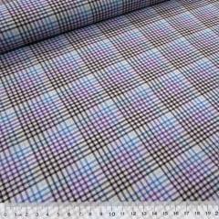 Tecido Tricoline Light - Xadrez Madras (REF 008) - 100% Algodão - Largura 1,50m
