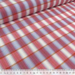 Tecido Tricoline Light - Xadrez Madras (REF 024) - 100% Algodão - Largura 1,50m