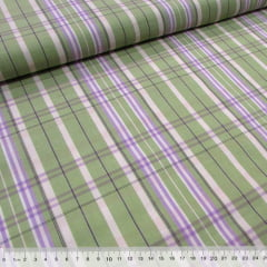 Tecido Tricoline Xadrez Madras (REF 013) - 100% Algodão - Largura 1,50m