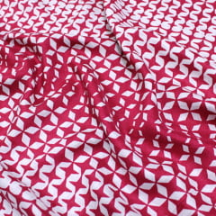 Tecido Viscose Light Estampada - Stela - Ref 52 - 100% Viscose - Largura 1,40m