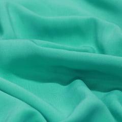 Tecido Viscose Lisa Lual - Verde Acqua - 100% Viscose - Largura 1,45m