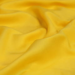 Tecido Viscose Lisa Lual - Amarelo Claro - 100% Viscose - Largura 1,45m
