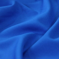 Tecido Viscose Lisa Lual - Azul Anil - 100% Viscose - Largura 1,45m