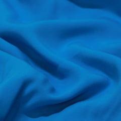 Tecido Viscose Lisa Lual - Azul Celeste - 100% Viscose - Largura 1,45m
