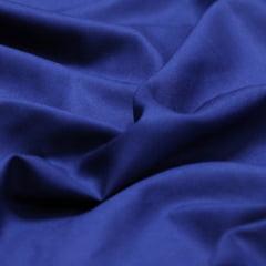 Tecido Viscose Lisa Lual - Azul Marinho - 100% Viscose - Largura 1,45m
