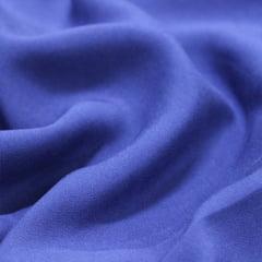 Tecido Viscose Lisa Lual - Azul Navy - 100% Viscose - Largura 1,45m