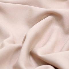 Tecido Viscose Lisa Lual - Bege - 100% Viscose - Largura 1,45m