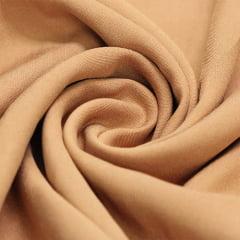 Tecido Viscose Lisa Lual - Caqui Dourado - 100% Viscose - Largura 1,45m