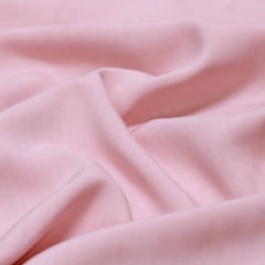 Tecido Viscose Lisa Lual - Rosê - 100% Viscose - Largura 1,45m