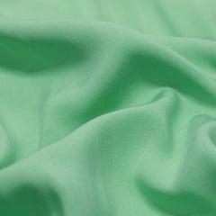 Tecido Viscose Lisa Lual - Verde Menta - 100% Viscose - Largura 1,45m