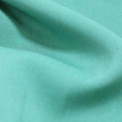 Tecido Viscose Lisa Lual - Verde Shine - 100% Viscose - Largura 1,45m