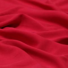 Tecido Viscose Lisa Lual - Vermelho - 100% Viscose - Largura 1,45m