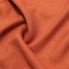 Tecido Viscose Lisa Sarjada Premium - Marrom Terra - 100% Viscose - Largura 1,45m