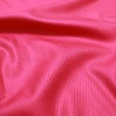 Tecido Viscose Lisa Sarjada Premium - Rosa Pink - 100% Viscose - Largura 1,45m