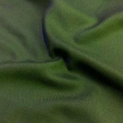Tecido Viscose Lisa Sarjada Premium - Verde Escuro - 100% Viscose - Largura 1,45m