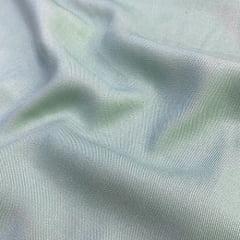 Tecido Viscose Lisa Sarjada Premium - Verde Suave - 100% Viscose - Largura 1,45m