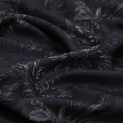 Tecido Viscose Premium Estampada - Dark Nature - 100% Viscose - Largura 1,50m