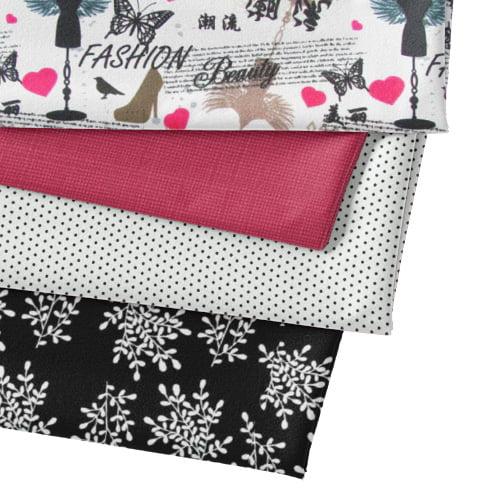 Kit Fat Quarter Especial - Fashion (4 Cortes de 50 cm x 75 cm)