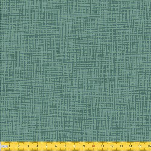 Tecido Tricoline Coleção Abstrato Riscado - Verde Antigo - 100% Algodão - Largura: 1,50m