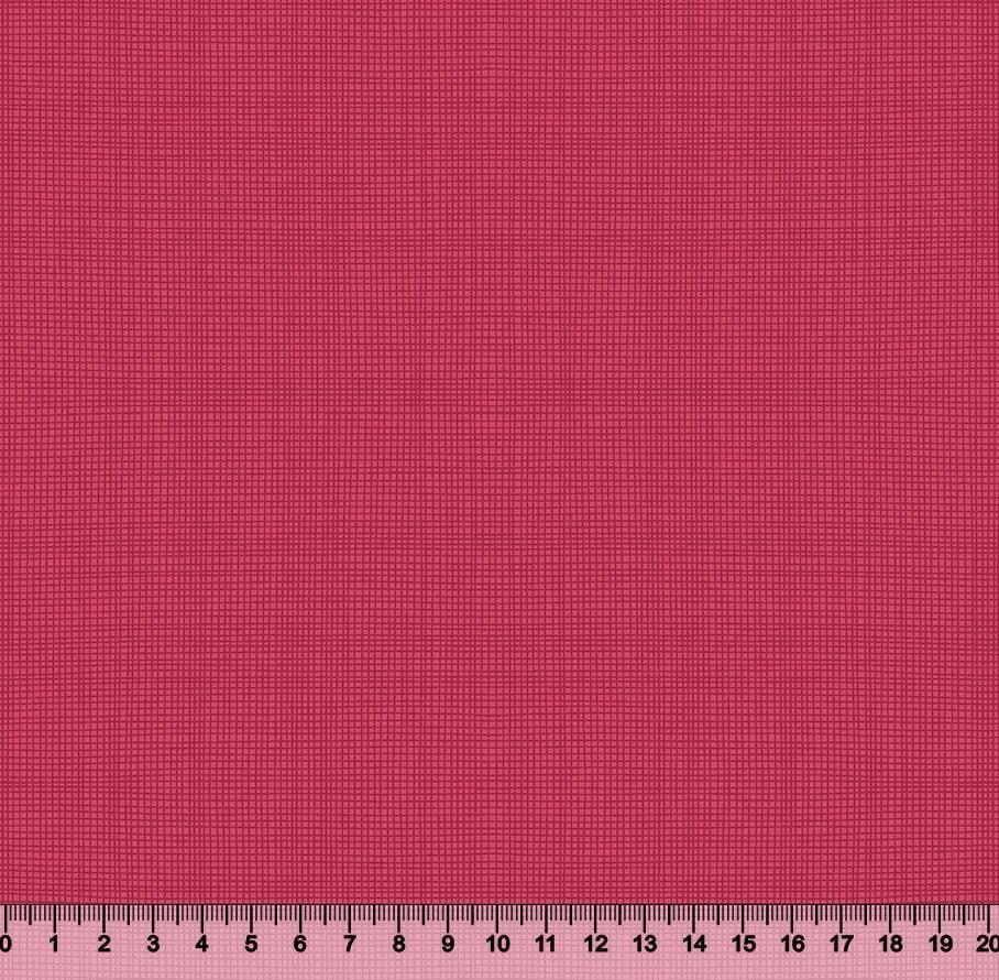 Tecido Tricoline Coleção Composê Ideal Rosa Pink - Riscadinho - 100% Algodão - Largura 1,50m