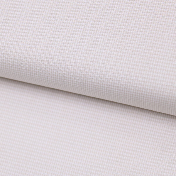 Tecido Tricoline Fio-Tinto Xadrez PP - Bege - 100% Algodão - Largura 1,50m