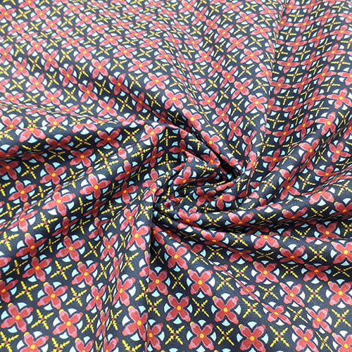 Tecido Tricoline Color RB Viver - 100% Algodão - Largura 1,50m