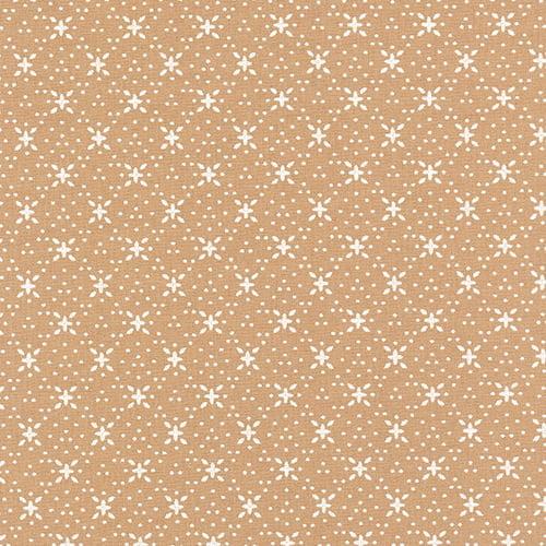 Tecido Tricoline Formas Soul - Bege - 100% Algodão - Largura 1,50m