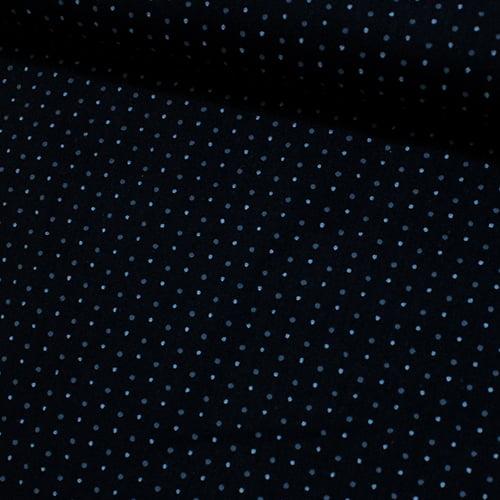 Tecido Tricoline Mini Dots Gray - 100% Algodão - Largura 1,50m