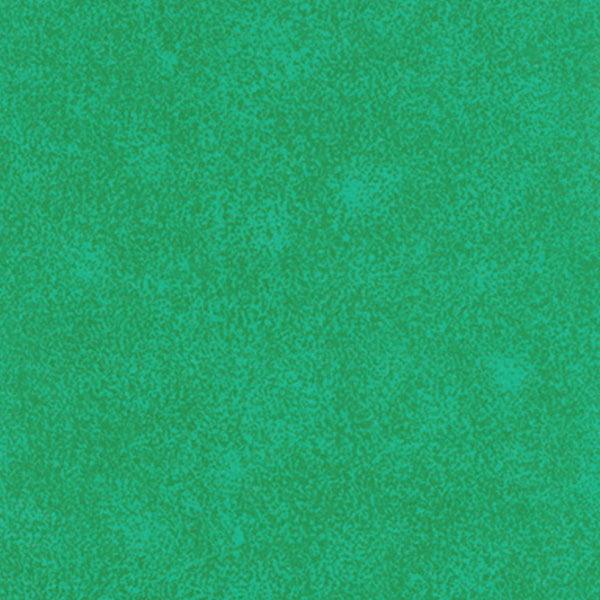 Tecido Tricoline Mista Manchado/Poeirinha Fumê Verde - 90% Algodão 10% Poliéster - Largura 1,50m