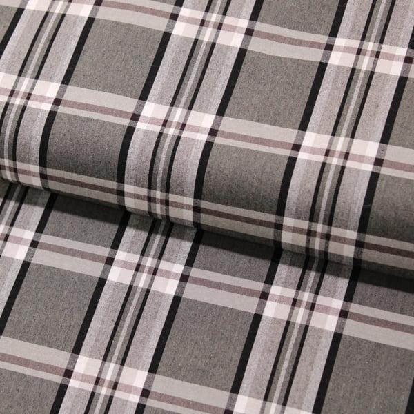 Tecido Tricoline Xadrez Madras - REF 098 - 100% Algodão - Largura 1,50m