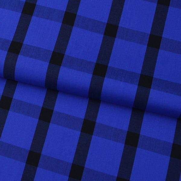 Tecido Tricoline Xadrez Madras - REF 101 - 100% Algodão - Largura 1,50m