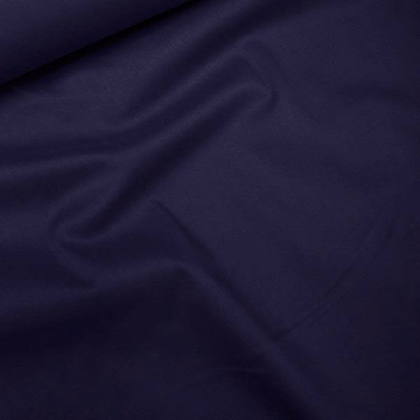Tecido Tricoline Com Elastano Lisa - Blue Deep