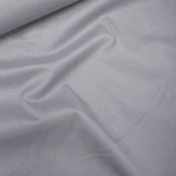 Tecido Tricoline Com Elastano Lisa - Cinza Claro