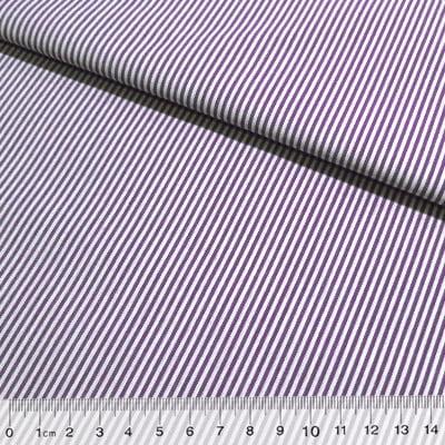 Tecido Tricoline Fio-Tinto Listras P - Roxo - 100% Algodão - Largura 1,50m
