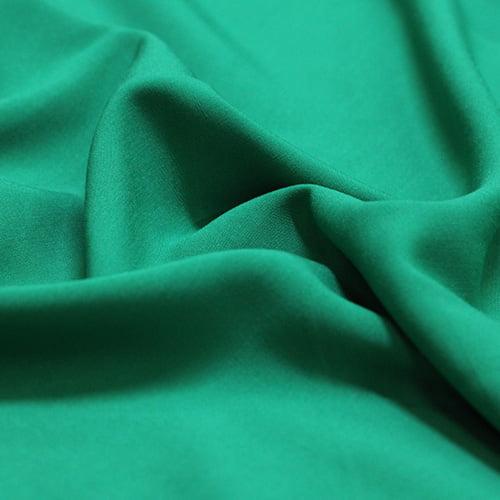 Tecido Viscose Lisa Lual - Verde - 100% Viscose - Largura 1,45m