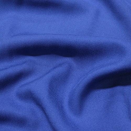 Tecido Viscose Lisa Sarjada Premium - Azul Candy - 100% Viscose - Largura 1,45m